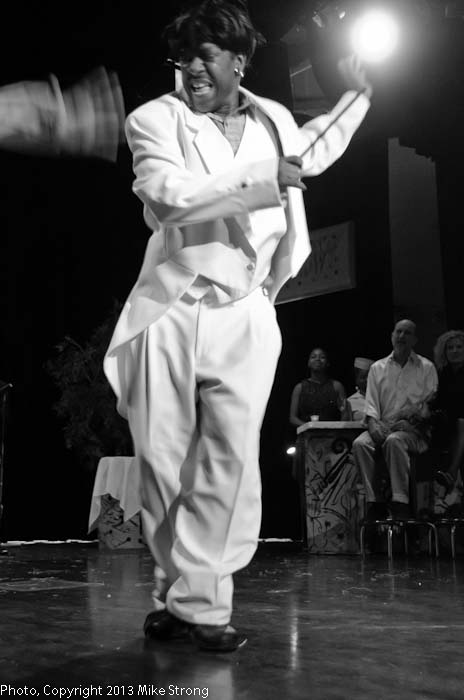 Santana Carlos Buggin Smith (as the dancing Cab Calloway)