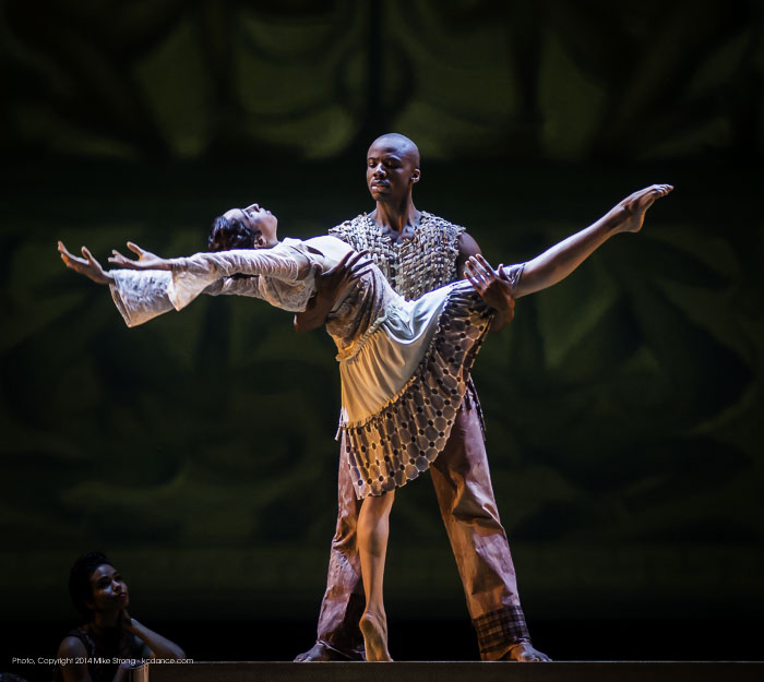 Jermaine Terry and Sarah Daley in Odetta
