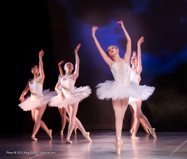 Molly Cook - Swan Lake by the American Youth Ballet (of American Dance Center in Overland Park, KS) May 12, 2012 - photo Mike Strong