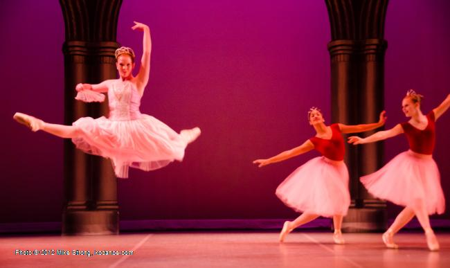 jete - Swan Lake by the American Youth Ballet (of American Dance Center in Overland Park, KS) May 12, 2012 - photo Mike Strong