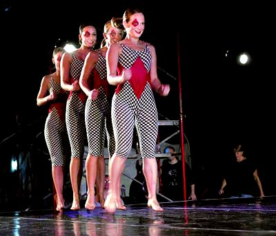 Julie Delancy-Rudolph, Kathryn Cowan, Shandi Miller, Lindsay Spilker-Tate - Four of a Kind - by Michelle Diane Brown of Kacico - Dance in the Park 2007