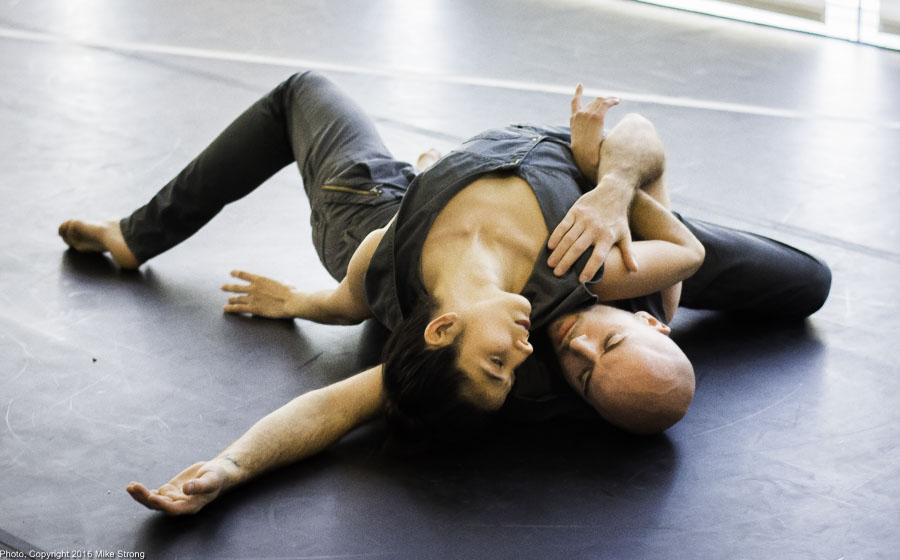 Laura Gutierrez and Szabi Pataki in Relic by Jonah Bokaer