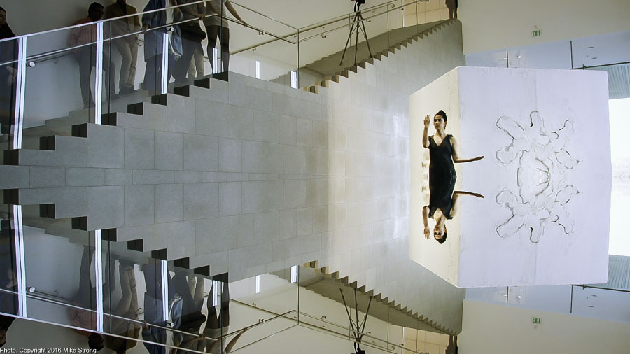 Laura Gutierrez in Relic (mirrored)