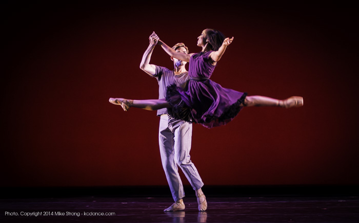 Kayla Rowser in jete and Mark Alynn Nimmo