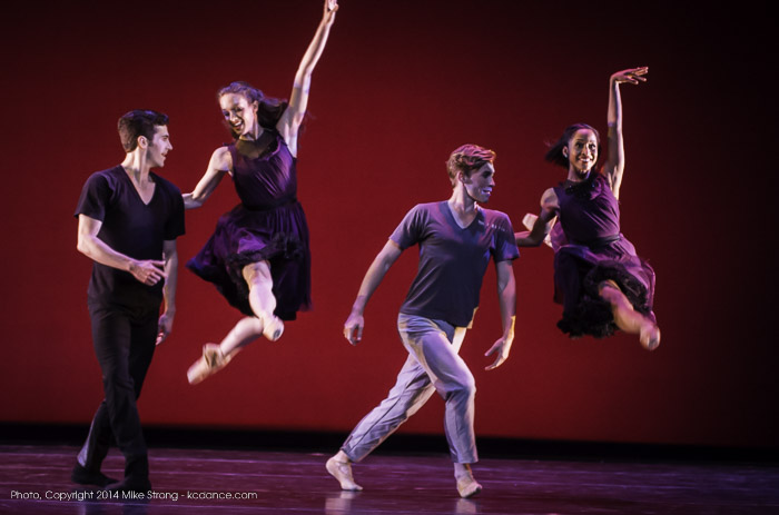 Jon Upleger, Keenan McLaren, Mark Allyn Nimmo, Kayla Rowser in Under the Lights by Chris Stuart