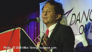 John Sefakis - Speaker / President - Dancers Over 40 Legacy Awards - Photo Mike Strong