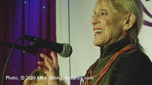 Sondra Lee- Speaker - Dancers Over 40 Legacy Awards - Photo Mike Strong