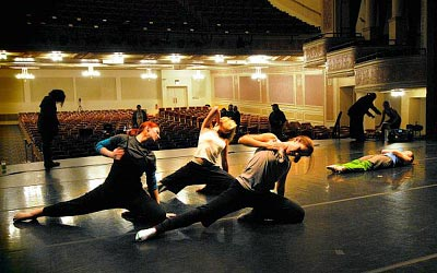 Spacing the piece, pre-performance
