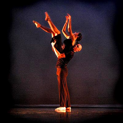 "Stephanie Whittler and Dale Fellin in City in Motion's ""A Question Of Fate"" Choreo: Donna Frogge"
