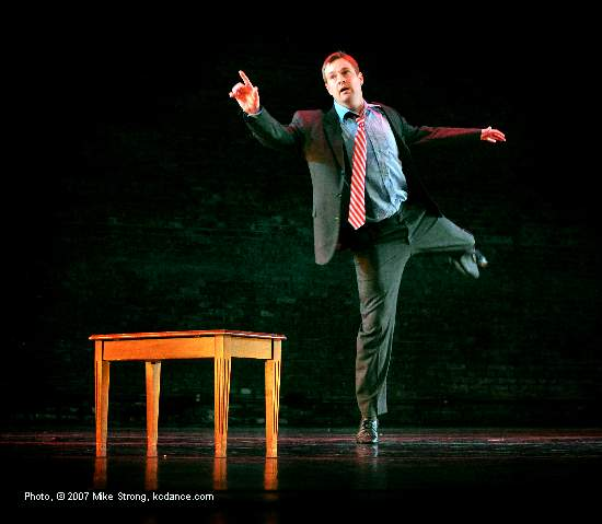 Jeff Curtis in Last Call by Jeff Curtis - a clear view - at A Modern Night at the Folly (by City in Motion) photo by Mike Strong - www.kcdance.com