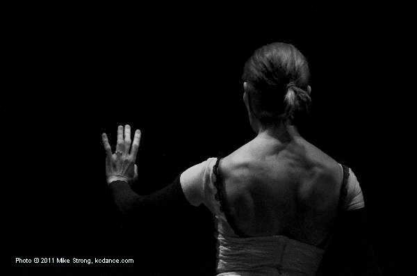 Paula Weber in Solemn Vow - Choreographer: Mary Pat Henry - Modern Night at the Folly 2011
