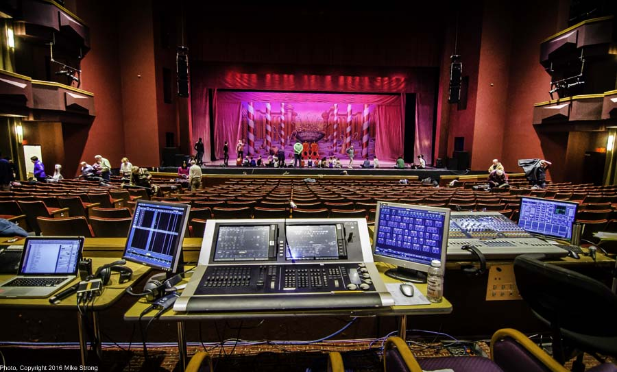 Working Tools, sound and lighting boards
