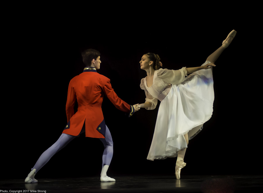 Nutcracker and Clara - Asher Wilson and Malerie Moore