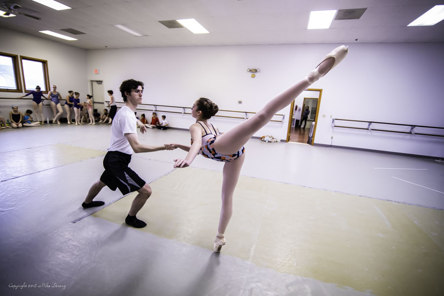 AYB Nutcracker 1st studio run
