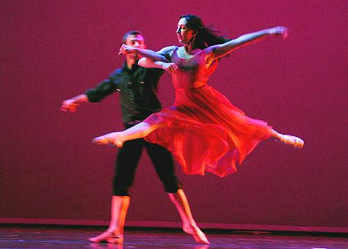 Ben Biswell and Jessi Fouts in Persephone (by Ben Biswell)