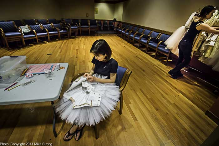 Tutu repair and costuming