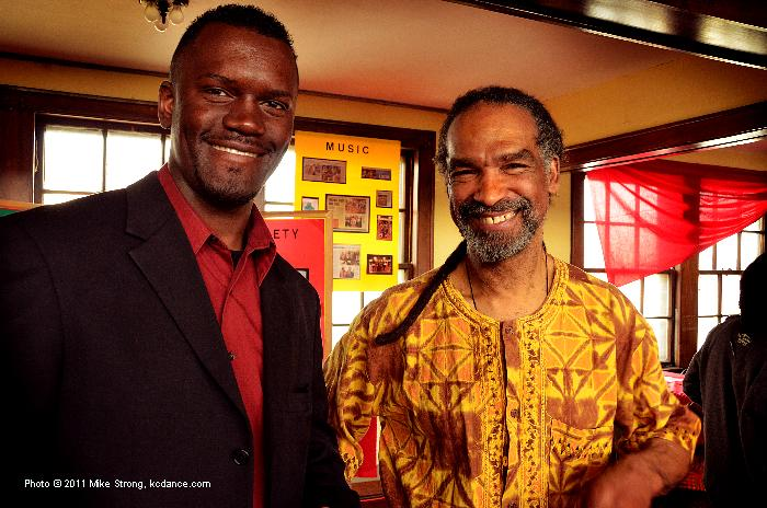 Victor Mabu and Bird Fleming