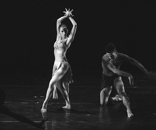 Molly Vaeth and Eric Harbin in Passage by DeeAnna Hiett