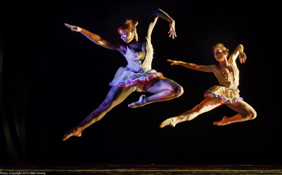 "Bree Dorsey and Maria Hall in ""Bach'd"" by Gary Abbott"