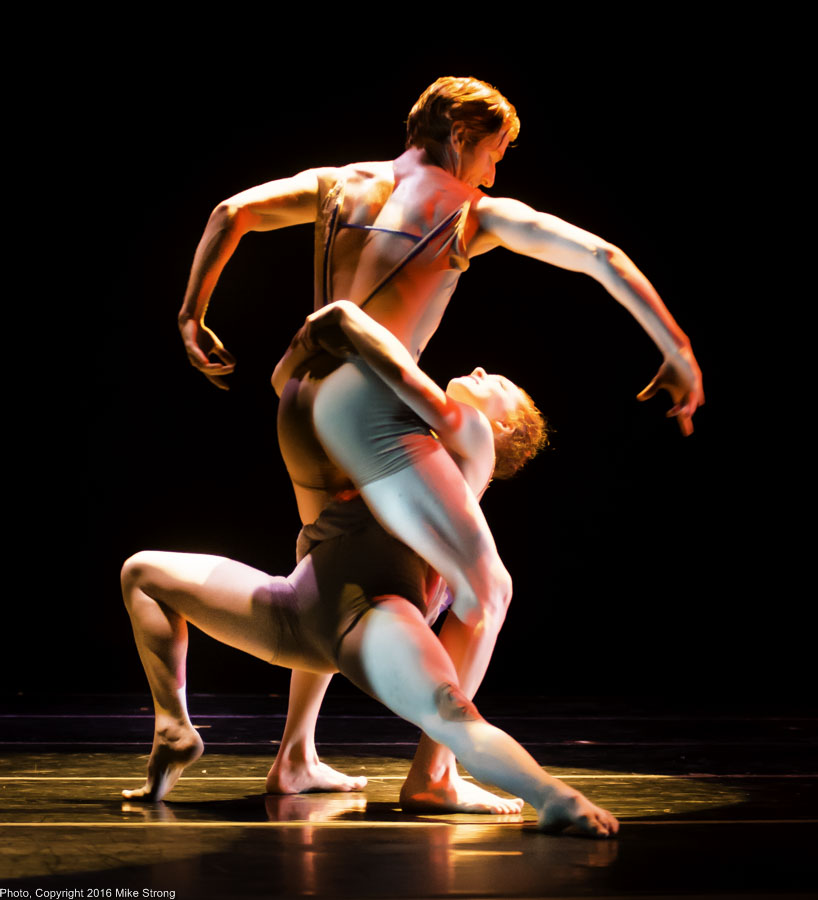 "David Calhoun and Sarah Frangenberg in ""Bach'd"" by Gary Abbott"