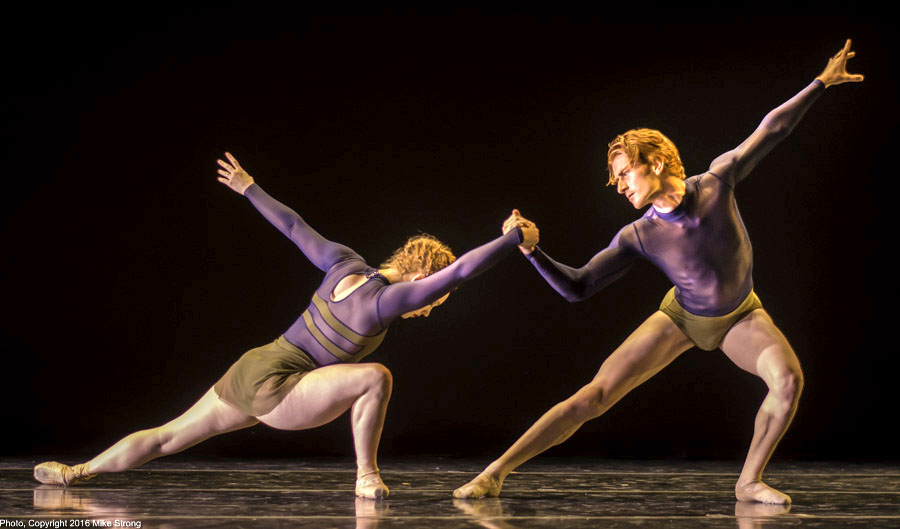 "Sarah Frangenberg and David Calhoun in DaJuan Johnson in ""Henriks Christine Nissen, Opus 40"" by Gregory Dawson"