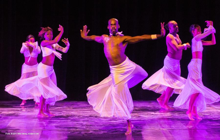 For the Love of ... - Cleo Parker Robinson (Dance in front center is UMKC grad Christopher Page)