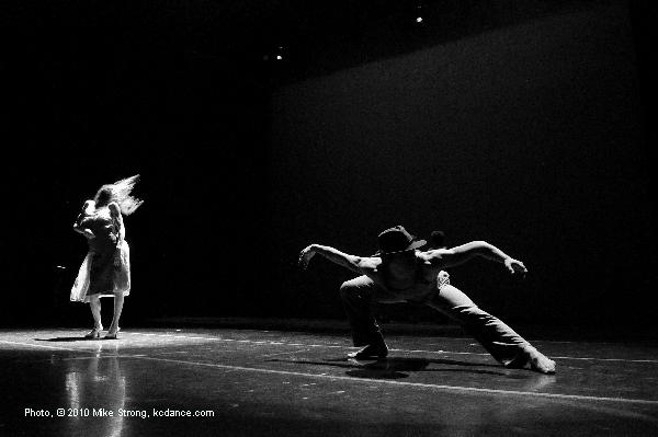DeeAnna Hiett and Gavin Stewart in Tower of Song by Leonard Cohen and choreographed by Josh Beamish