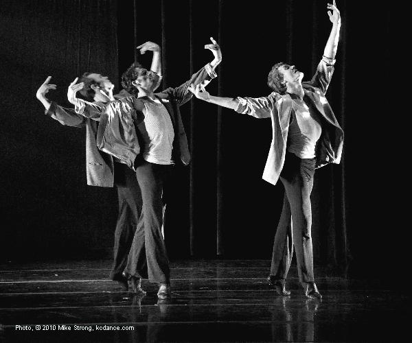 Erik Sobbe, Gavin Stewart, Michael Tomlinson in You Won't See Me by the beatles and choreographed by Jennifer Medina