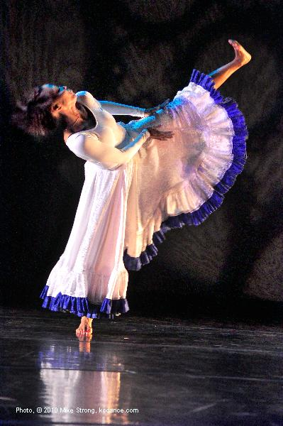 Latra Wilson in Didn't It Rain, a Mahalia Jackson piece choreographed by Telly Fowler.